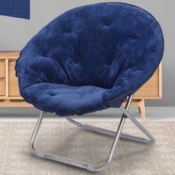 懶人椅月亮椅折疊椅太陽椅休閑躺椅宿舍椅午休懶人沙發椅 zm1163—智能生活館