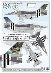 Syhart_1/48_Belgian AF F-16AM 75 Years D-Day 349Sqn_48-113A
