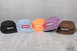 f8dd600b571  HYDRA Supreme Washed Chino Twill Camp Cap 厚貼布五分割帽
