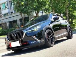【保証實價】日本原裝進口 CX-3 2.0  頂級型 避震、鋁圈、雙出排氣管 全車不拆