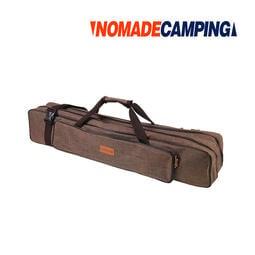 【露戰隊】NOMADE 600D雙層營柱袋 咖 營柱 保護袋 營柱包 裝備袋 收納 營柱收納袋 天幕桿包  N7180