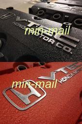honda本田K7美規2.2 VTEC或K9 2.0 2.3噴砂皺紋漆單凸輪軸搖臂蓋鳥蓋 F22B1 F20B F23A