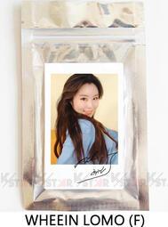 【K-Star】最新款💖 MAMAMOO WHEEIN 輝人 印刷簽名LOMO相片組(F) 一組20張 小卡