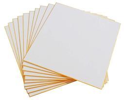 附透明保護套 全新品 空白簽名板10張 日本製 27.2×24.2cm 簽名版 簽名板 色紙