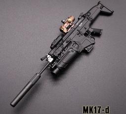 【現貨BA-532】1/6 ( MK17-d )  MINITIMES 玩具 配件 武器 塑膠 模型