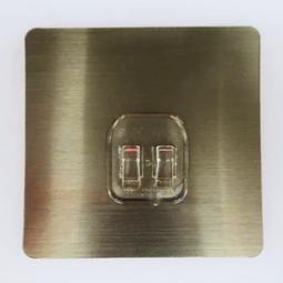 不鏽鋼鐵架專用無痕卡貼適合本賣場不鏽鋼置物架筷子架6排無痕掛勾無痕置物架專用無痕貼