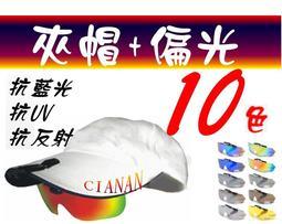 夾帽式 ! 眼鏡族可用 ! 防藍光 ! 水面抗反射 ! Polaroid 寶麗來偏光太陽眼鏡+UV400 HSRY