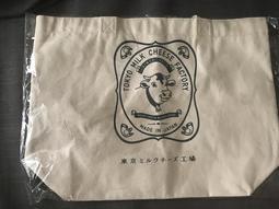 TOKYO  MILK  CHEESE FACTORY 東京牛奶起士工場 帆布袋