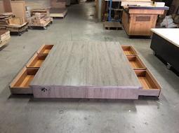 【新精品】TS-04 5尺標準雙人六分六抽床底 堅固耐用 銷售第一 精選十色 台灣製造 可訂製尺寸