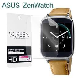 【保護貼】 ASUS ZenWatch 1 WI500Q / ZenWatch 2 WI501Q 智慧手錶軟性膜//2入