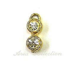 Bling Bling 吊飾 墬子 耳環 0.5x1.4cm 一份1顆 J41-9C12A 串珠 首飾 飾品 金工 手工藝 半竇石DIY 材料 配件