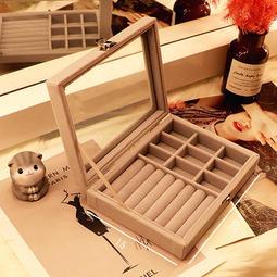 飾品耳環首飾收納盒/整理盒/珠寶盒