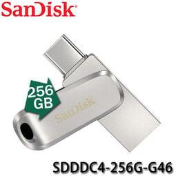 【MR3C】含稅公司貨 SanDisk Ultra Luxe 256G 256GB USB Type-C雙用隨身碟