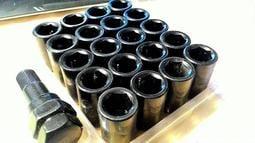鋁圈螺絲 XXR 可用 內六角 鍍鉻銀+紅+藍+黑  輪圈螺絲 改圈用螺絲