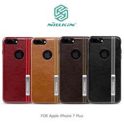 NILLKIN Apple iPhone 7 Plus 5.5吋 尊銘商務保護殼 背蓋 鏡頭加高 可站立支架