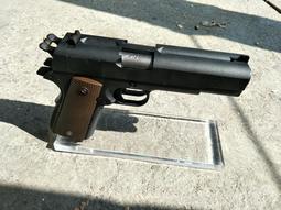 9成新~WE 雙管 M1911 .45 軍版 瓦斯手槍