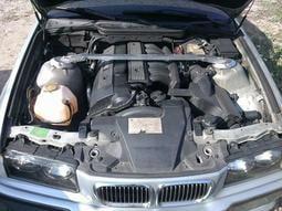 BMW  E36 E39 E38 E46 323 年份97.09 單可變引擎線組電腦(全套)零件車