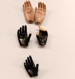 12吋人偶 1/6 女用 裸手 手套手 組 9(女素體 包膠素體 可用)
