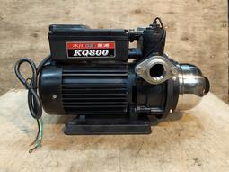 中古 二手 木川汞浦  KQ800 1HP 流控恆壓汞浦 加壓機 加壓馬達