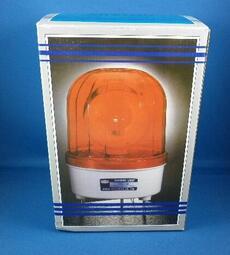 紅色18CM(大型) LED旋轉警示燈(含蜂鳴器)DC12V 車道警示燈