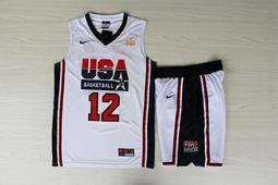 NBA2018全明星賽球衣 美國夢幻隊 John Stockton約翰·史塔克頓 Curry Durant 湯普森