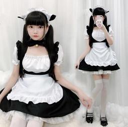 衣衣時尚。coaplay女裝日系女僕裝性感貓咪連衣裙套裝