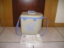 保温冰桶(冰箱)(附冷媒罐、野餐杯、盤及刀叉4人份)近全新