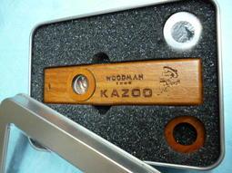 筌曜樂器 全新 Woodman Kazoo 木卡祖笛 實木製 超低價(贈鐵製收藏盒+笛膜)