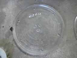 微波爐 28CM 轉盤 玻璃 旋轉盤 三凸 3點 $180 #整12標1元得標螺絲1隻 廉售問價另開賣場