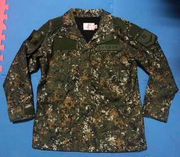 國軍數位迷彩野戰夾克 陸軍新式數位迷彩外套 公發 全新 含章記