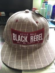 ColorMonkey black rebel 縫布棒球帽 淺咖啡色