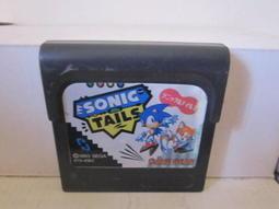 網路小站-特價出清-G.G.卡匣Game Gear卡帶 音速小 子與堤爾斯