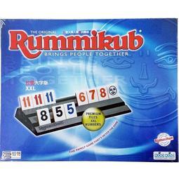 【買齊了嗎 Merrich】 拉密數字牌 XXL大字版  桌遊 親子 家庭 聚會 桌上遊戲  7Y以上