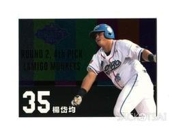 【2017發行】2016中華職棒27年球員卡 超級選秀日卡-DD07楊岱均(Lamigo桃猿)