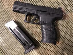 [EFA漆彈精品]客製強化版 UMAREX WALTHER 11mm PPQ M2 鎮暴漆彈訓練槍 +30m/s版