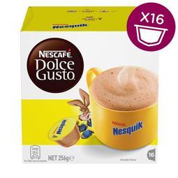 (全新品)雀巢 Nescafe Dolce Gusto NESQUIK 高鈣巧克力牛奶飲品 膠囊一盒(每盒共16杯入)