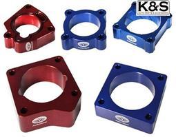 ●凱興國際●普菲迅節氣門墊寬片本田喜美K8 1.6L 六代 1996~2001年 顏色 藍 紅
