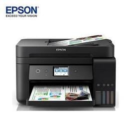 EPSON L6190 雙網四合一傳真 連續供墨複合機