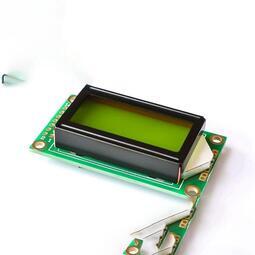 0802A 字符型液晶屏 8*2行 黃綠屏 液晶屏 液晶