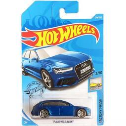 全新 Hot Wheels 風火輪  AUDI RS 6 AVANT 奧迪 跑車 旅行車