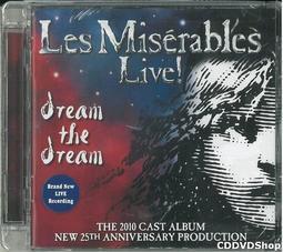 美版全新CD~音樂劇悲慘世界25週年版Les Miserables Les Miserables 2010 Cast