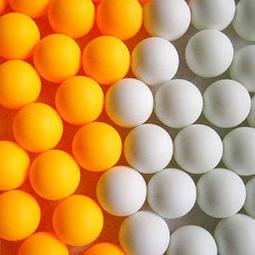 【50顆150】無字乒乓球,樂透彩球,摸彩球,遊戲球--~石來運轉~號碼球DIY