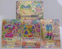 偶像學園 第四季第二彈 堂島妮娜 毛茸茸怪獸套裝組 (16 02-44PR、45PR、46PR)