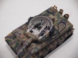 現貨1/72 PMA 二戰德軍 虎 I 限量內構版 完成品