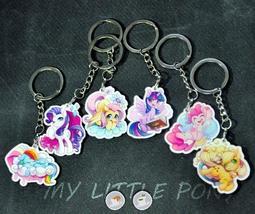 茉莉●同人●MY LITTLE PONY彩虹小馬 休閒時刻壓克力鑰匙圈
