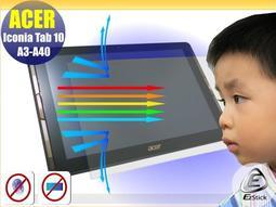® Ezstick 抗藍光 ACER Iconia Tab 10 A3-A40 10吋 平板專用 防藍光螢幕貼
