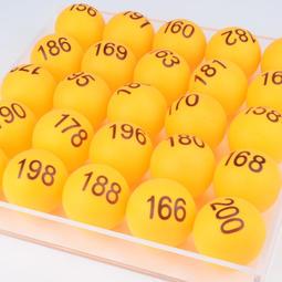 Y532-30 1-150號尾牙抽獎數字球 數字乒乓球 聚會 抽獎數字球 抽獎球 賓果球 開獎球 號碼球
