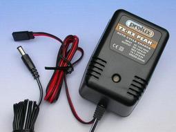上手遙控模型   Prolux TX-RX Peak 發射器,接收器用鎳氫鎳鎘電池專用快速充電器(3415F)