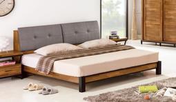 工業風柚木色集成5尺床箱+床底 另有6尺👍台灣製造👍😊暖暖屋傢俱傢飾😊