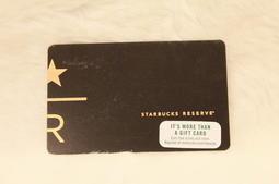 美國 星巴克 STARBUCKS 2017 STARBUCKS RESERVE 典藏R卡 隨行卡 儲值卡 星巴克卡 卡片